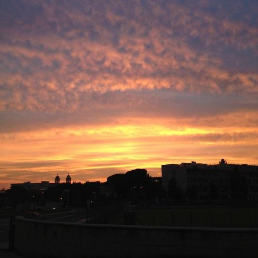 C'est ça ƒ la vie ! Sunset Rome