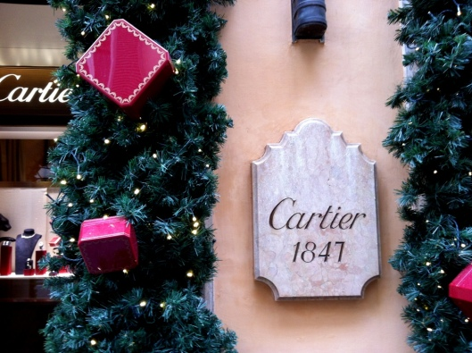 Christmas in Rome Cartier