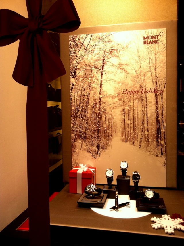 Christmas in Rome Mont Blanc