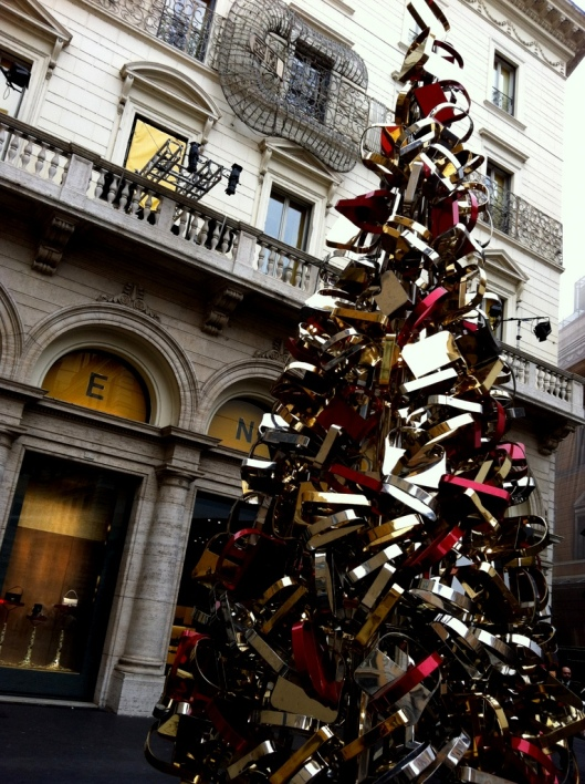 Christmas in Rome Fendi