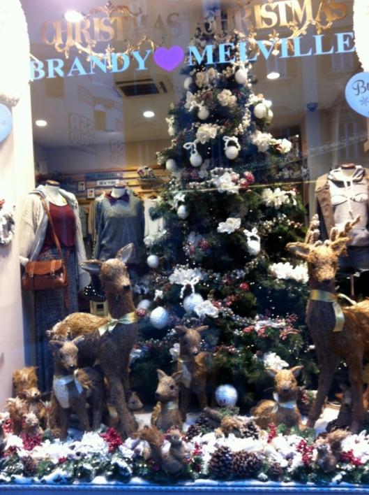 Christmas in Rome Brandy & Melville