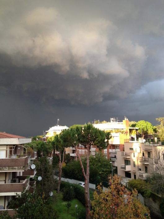 Tempête Rome