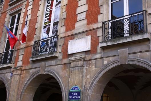 Place des vosges Paris Maison Victor Hugo
