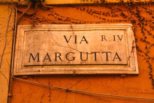 Via Margutta Roma