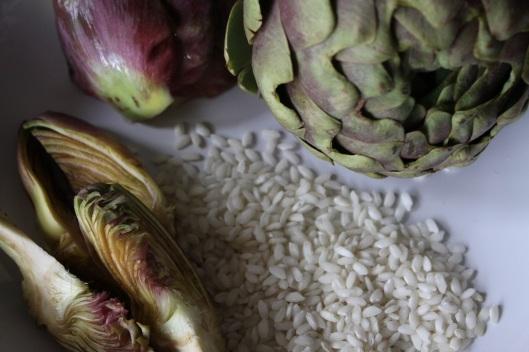 Risotto aux artichauts - Risotto ai carciofi