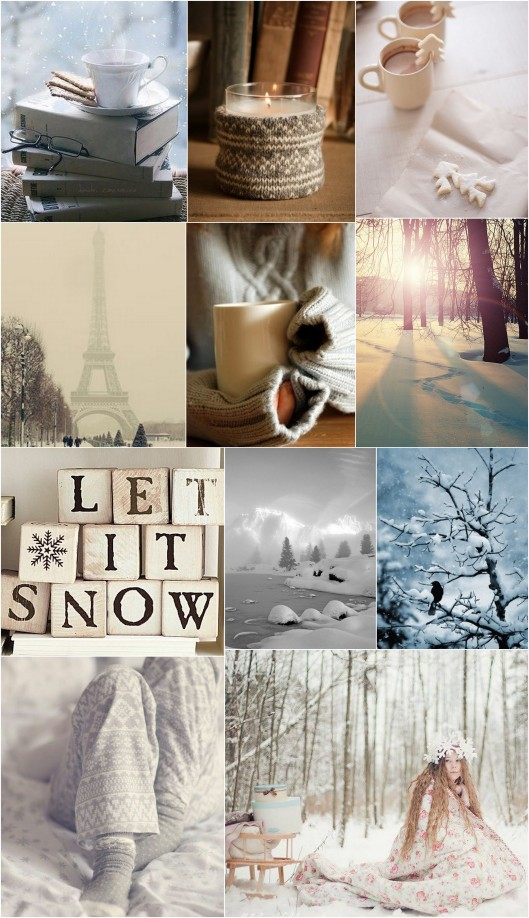 Collage Winter Inspiration